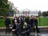 Étudiants en voyage académique à Washington, 2009